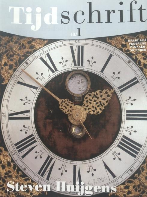 Een staande klok van Steven Huijgens