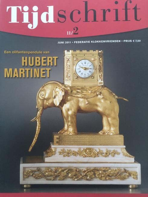Een olifantpendule van Hubert Martinet